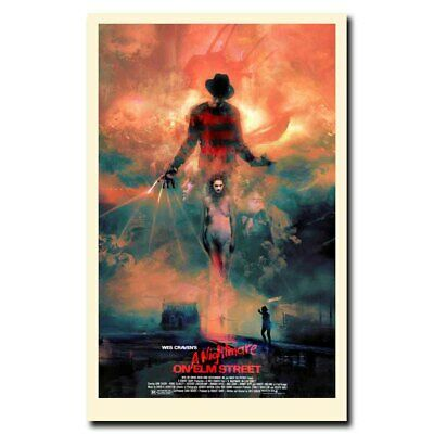 A Nightmare on Elm Street 12x18/24x36inch Horror Movie Silk Poster Cool Gifts