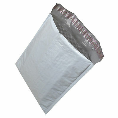 2 100 Poly Bubble Mailers 8.5x12 Plastic Padded Envelopes Self Sealing Bags