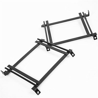 Racing Bucket Seat Base Mount Adapter Brackets Rails Tracks for 92-95 Civic Pair (Seat Base Adapter)