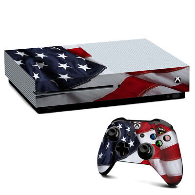 Xbox One S Console Skins Decal Wrap ONLY US Flag USA America