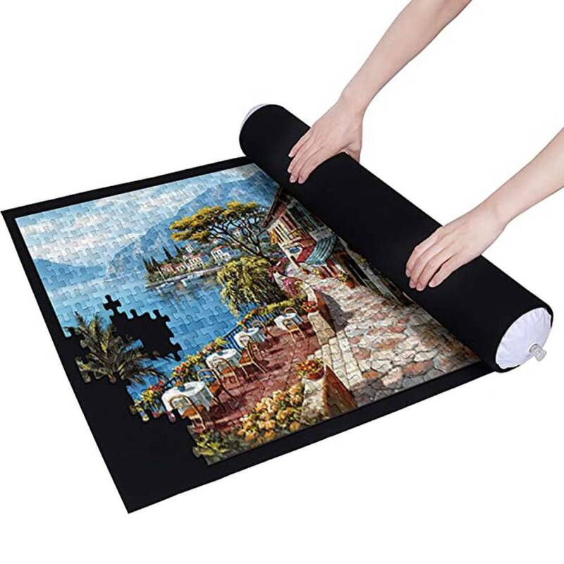 GIANT PUZZLE ROLL-UP MAT JIGSAW JUMBO LARGE 1500PIECES FUN GAME EASY STORAGE