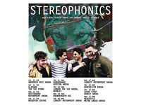 2X Stereophonics Leeds Direct Arena Floor standing tickets-Sat 10th March