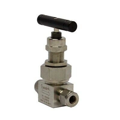 Stainless Steel Severe Service Union Bonnet Needle Valve 38 In. Swagelok Tub...