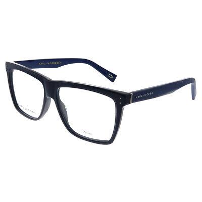 New Marc Jacobs Marc 124 0TC Blue Plastic Square Eyeglasses (Marcs Glasses)