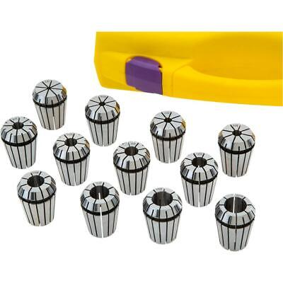 Grizzly T30611 Er25 Spring Collet 12 Pc. Set