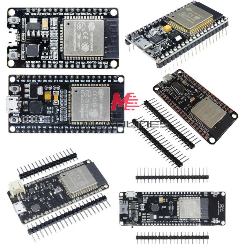 Esp32 Wifi Bluetooth Development Board Cp2102/cp2104/ch340g Or W/ Battery Holder