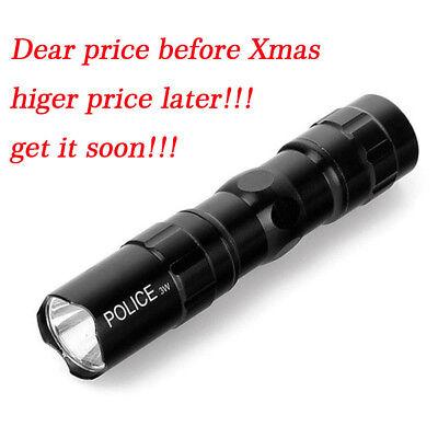 Mini 5000lm CREE Q5 LED Tactical Shadowhawk X800 Flashlight Aluminium Torch BK