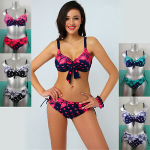 Ladies-Sexy-Swimwear-Two-Piece-Bikini-Swimdress-AUS-Size ...