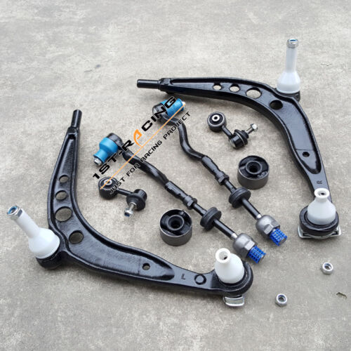 For BMW E36 318 325 328 Z3 FRONT CONTROL ARM SUSPENSION WISHBONE KIT 8 PCS