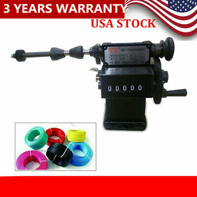 Manual Hand Coil Winding Machine Coil Winder Counting 28cm Width Dual-purpose