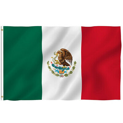 new 3x5 polyester mexico flag mexican country