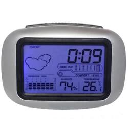 Digital Alarm Clock Modern Style Multi Functional Home Bedside Table Decorations