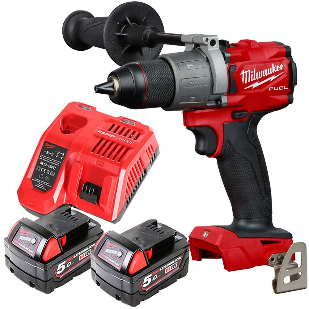 "Milwaukee M18FPD2-0 Gen 3 1//2/"" Fuel Percussion Drill Body Only Free £5 Bit Set"