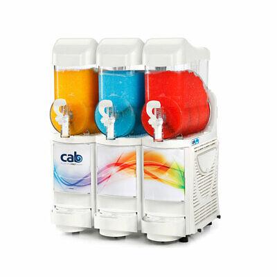 Faby Skyline 3 Granita Margarita Slush Machine - White