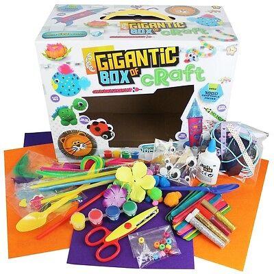 Grafix Gigantic Box of Craft Children's Kids Creative Crafts Set 300+ Pieces