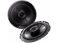 "TS-G1733i Pioneer 17cm 6.5"" 3 Way Coaxial Car Door Shelf Speakers 250w"