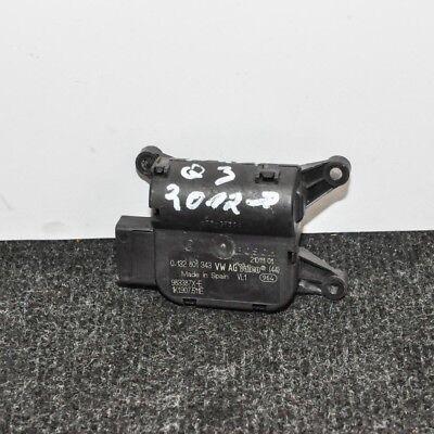 AUDI Q3 Heater Flap Motor Actuator 8U 0132801343 1K1907511E 2012 LHD