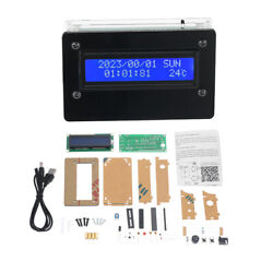 Electronic Digital Alarm Clock DIY Kit Time Date Week LCD Screen Display F2X9