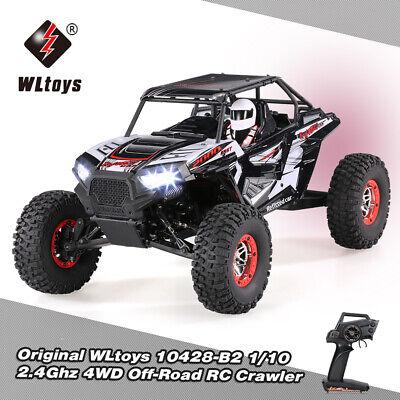 WLtoys 10428B2 1/10 2.4G 4WD Electric Off-Road Buggy Desert Baja RC Car RTR N0O4 ()