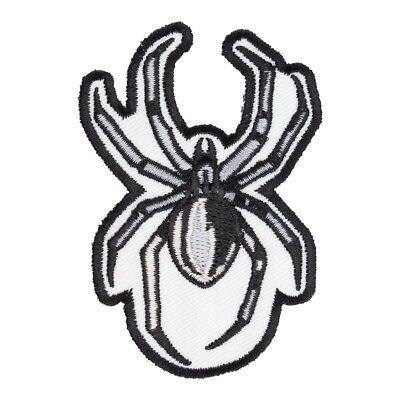 Grey, Black & White Spider Patch, Spider - Black And White Spider