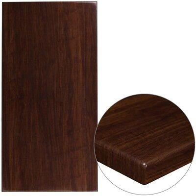 New 2x30x60 Veneer Butcher Block Dark Mahogany Restaurant Tabletop Furniture