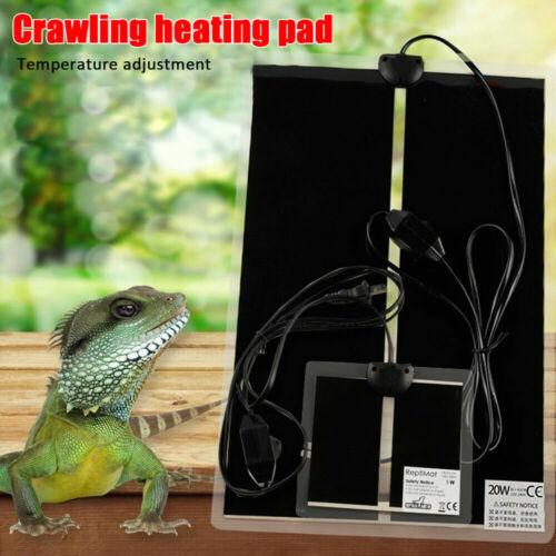 Reptile Heat Mat Under Tank Heater Terrarium Heating Pad for