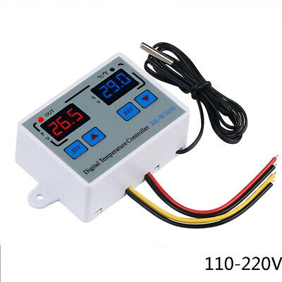 Ac110-220v Digital Thermostat Cf Temperature Controller F Incubator Relay C3n9
