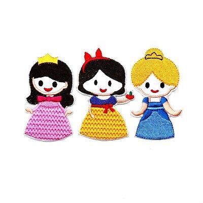 Diy Fairy Dress (Princess Magical fairy Cute Cartoon DIY Girl Clothes Dress Jacket Iron on)