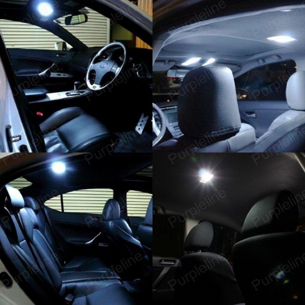 11 X Xenon White Led Interior Light Package Kit For Dodge Charger 2006 2010
