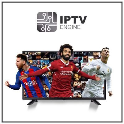 Subscription Iptv 1 Month Vod   Channels 4000   Arab Eurpoe Android  Mag