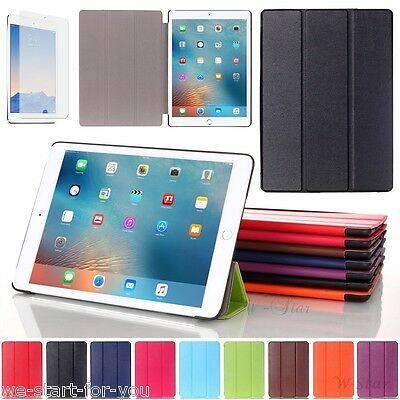 "✔Edle New Apple iPad 2018 2017 (9.7"") Schutz Hülle+Folie Tasche Cover Smart Case"