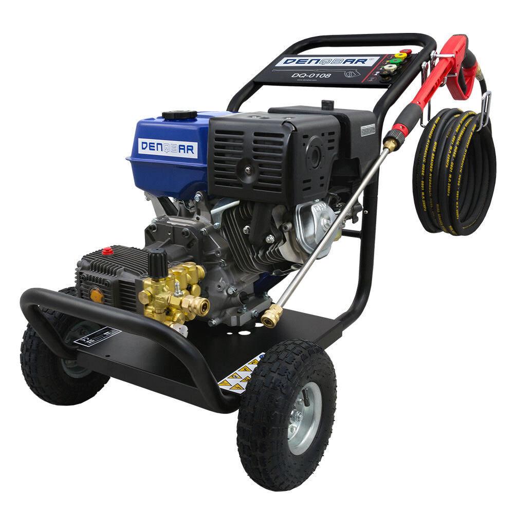 Купить denqbar benzin hochdruckreiniger 250 bar 9,6kw (13 ps) на