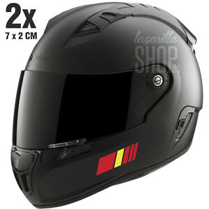 2x-Pegatinas-BANDERAS-ESPANA-Pegatina-sticker-vinilo-para-el-casco-coche-moto