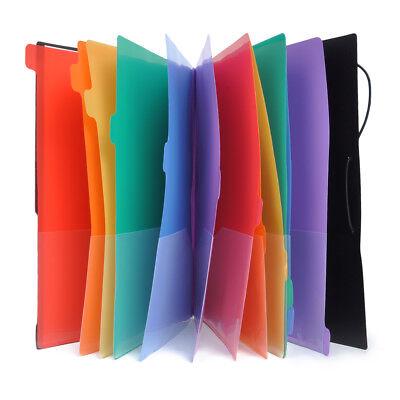 12 Pocket File Folder A4 Paper Holder Document Organizer Office Stationery