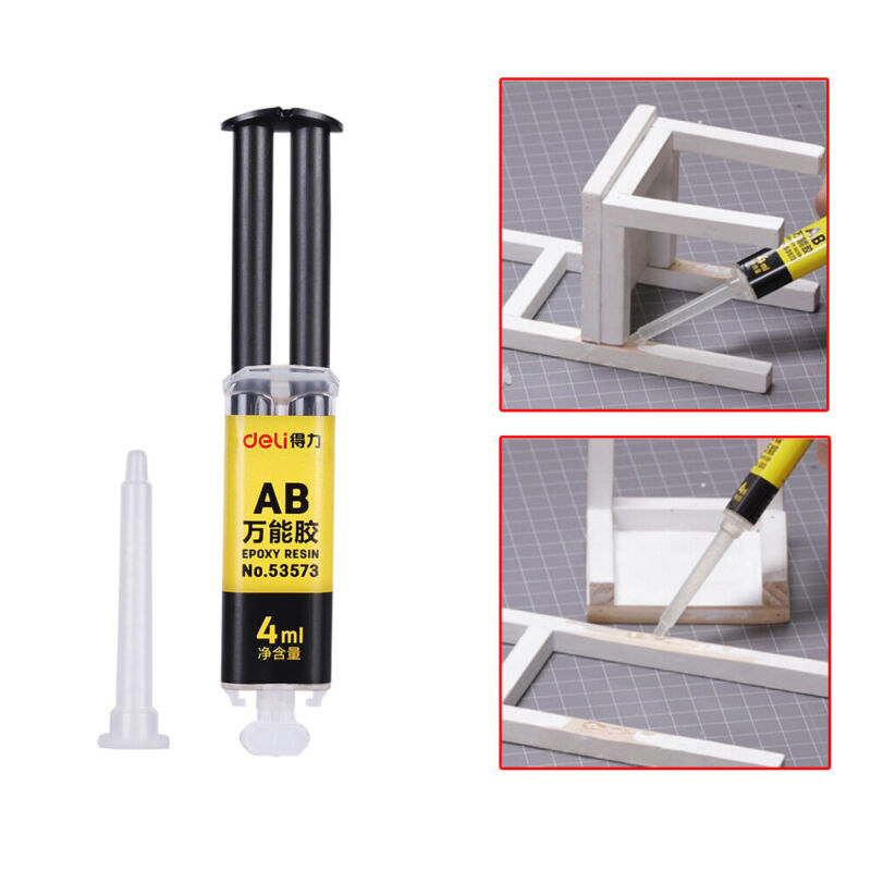 Mighty Epoxy Resin AB Glue Strong Adhesive Repair for Glass