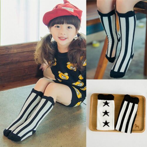 New Hot Sale For Age 1-4 Years High Socks Baby Kids Toddlers Knee High Socks