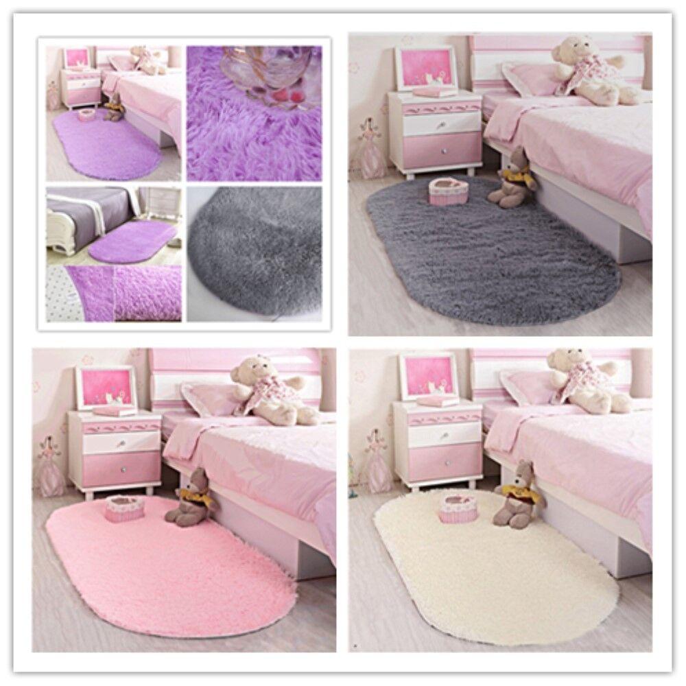 Ultra Soft Fluffy Area Rugs Mat Home Shag Carpet for Living