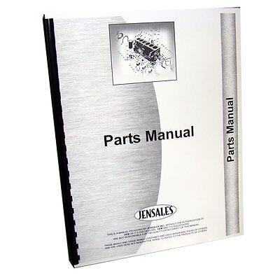 International Harvester Engine Parts Manual