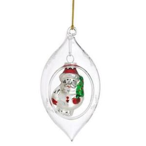 Vintage Clear Glass Ornaments