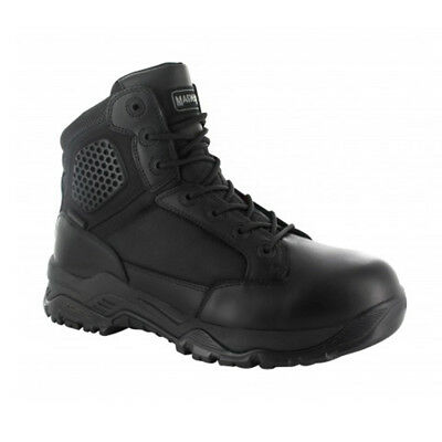 Magnum Mens Strike Force 6.0 WP Black Waterproof Police Combat Boots 5434
