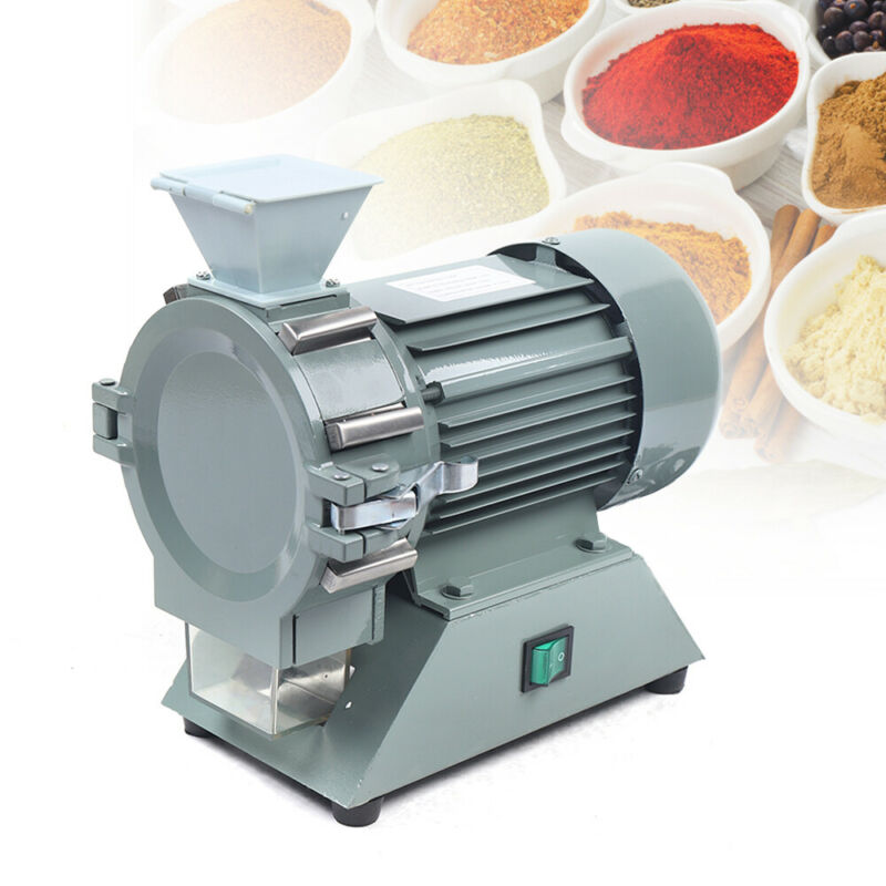 1400r/m 110V Electric Mini Mill Plant Herb Grain Grinder Crusher Soil Pulverizer