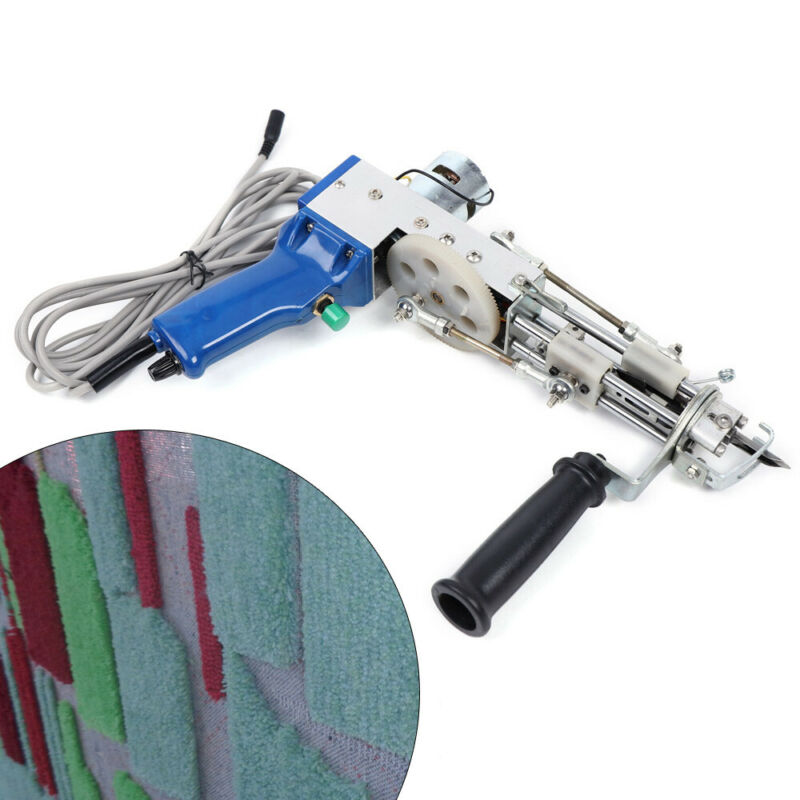 Electric cut pile Type Carpet Weaving Machine Handheld Tufting Gun Rug Flocking