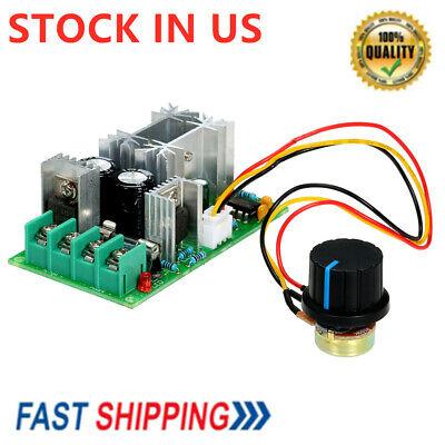 Dc 12v 24v 36v 48v 20a Motor Speed Controller Pwm Speed Regulator 0100 A9v4