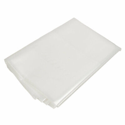 2m X 5m 450 Gauge Transparent Polylite Polythene Plastic Sheeting Building Diy