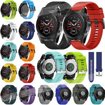 Armband Quickfit Uhrenarmband Band Für Garmin Fenix 5/5X/5S GPS
