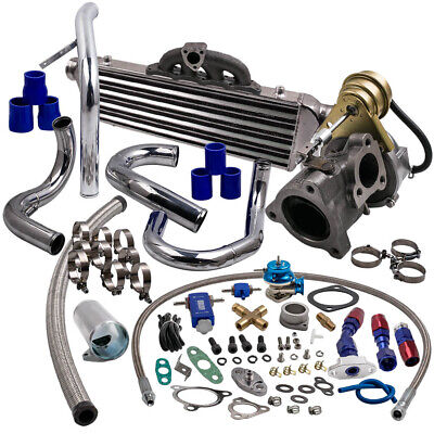 K04 Turbo for AUDI A4 1.8T Turbocharger with Boost Controller + manifold gasket for sale  Leicester