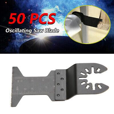 50x Oscillating Multi Tool Saw Blade For Porter Cable Dewalt Dremel Quick Change