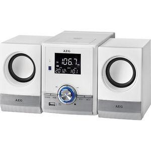AEG Musik-Center mit CD/MP3/USB MC 4461 BT weiß CD/MP3/USB CD-Player Musikanlage