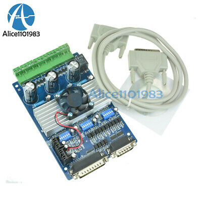 3 Axis Cnc Stepper Motor Driver Controller Board 3.5a Tb6560