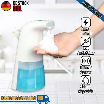 Automatisch Seifenspender 300 ML Sensor Desinfektionsmittel Spender Dosierer USB